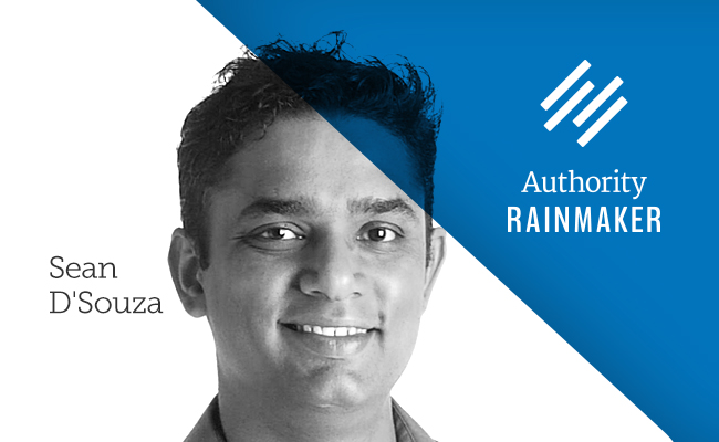 Sean D'Souza, speaker at Authority Rainmaker 2015
