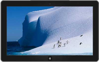7 tema Antarctic do Windows