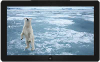 Arctic- gratuitos Windows 7 Theme