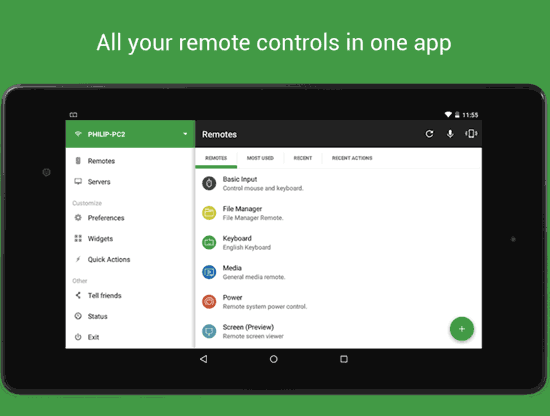 Unified App remoto