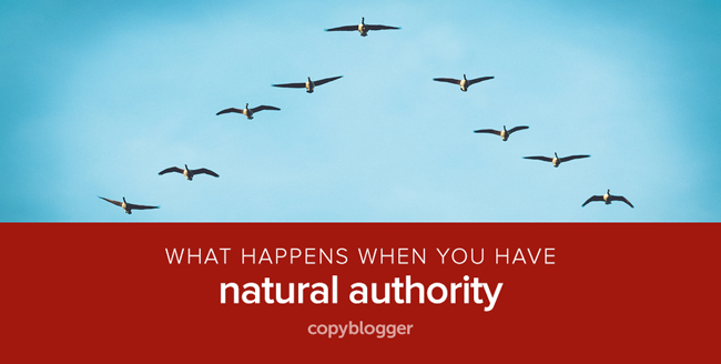 what happens when you have natural authority