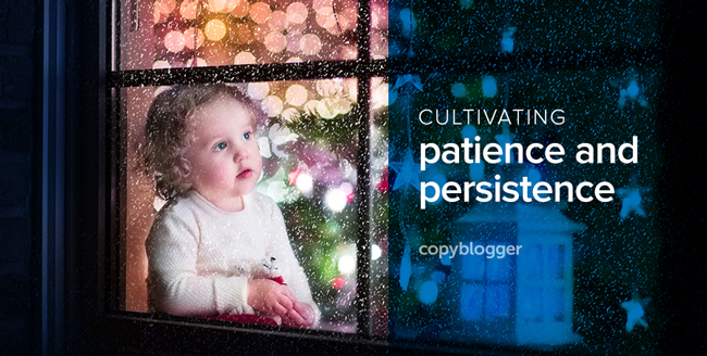 cultivating patience and persistence