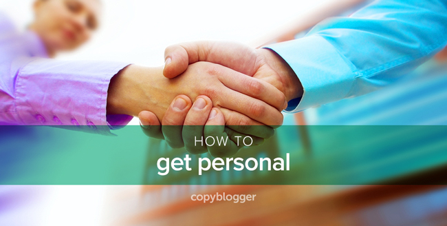 how to get personal