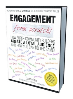 image of danny iny's engagement book