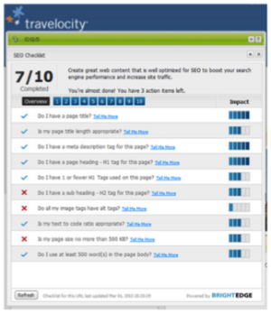 Travelocity Content Creation & SEO
