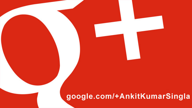 Aumentar do Google Plus Seguidores