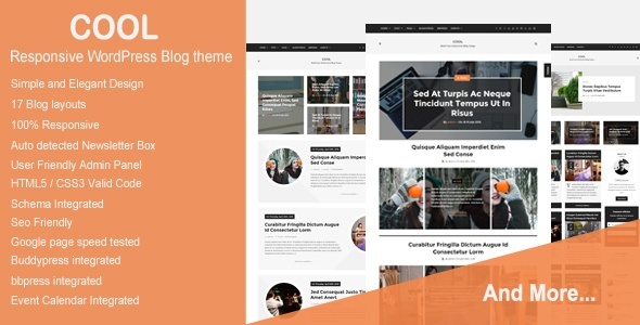 Legal Responsive WordPress Blog Tema