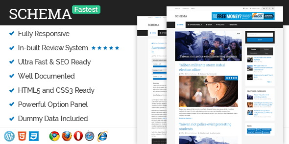 Esquema MyThemeShop Tema WordPress